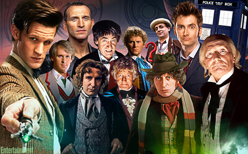 Dr Who I say