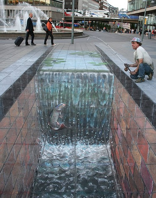 Amazing 3D Street Art by Julian Beever x1