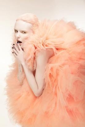 Bonnie Strange wears Marina Ballerina, photographed by Phillip Ackermann