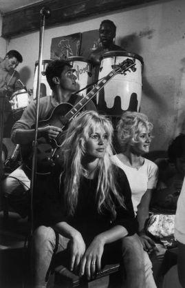 Brigitte Bardot photographed by Burt Glinn, 1958.