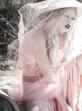 Tiernen Cowling wears a Thai Ngyen dress