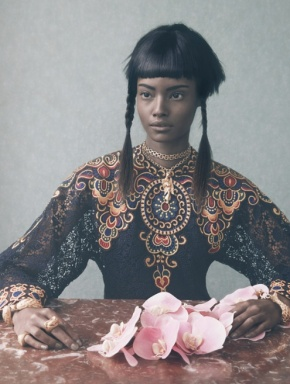 Vogue Italia March 2014 'An Up-To-Date Elegance' - Malaika Firth by Solve Sundsbo