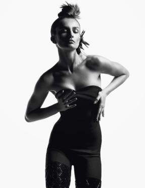 Andreea Diaconu by Inez & Vinoodh for Vogue Paris