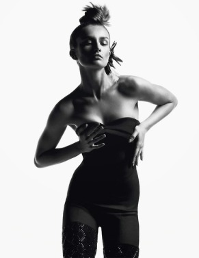 Andreea Diaconu by Inez & Vinoodh for Vogue Paris