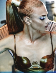 Anna Selezneva by Giampaolo Sgura for Allure Russia September 2014