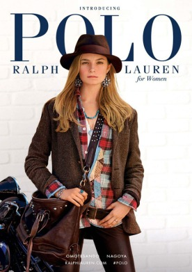 Bridget Malcolm for Polo Ralph Lauren for Women FW 14-15