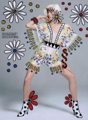 Devon Windsor photographed by Jacques Dequeker for Vogue Brazil September 2014 x5