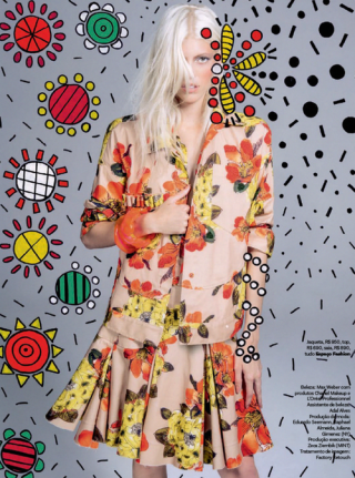Devon Windsor photographed by Jacques Dequeker for Vogue Brazil September 2014 x6