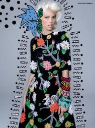 Devon Windsor photographed by Jacques Dequeker for Vogue Brazil September 2014 x8