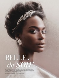 French model Kelly Moreira graced Romanian fashion magazine The One photographed by Oltin Dogaru