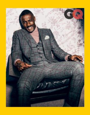 Idris Elba for GQ October 2013. x2