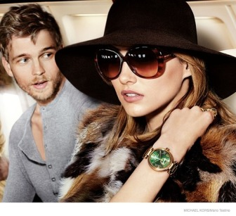 Karmen Pedaru photographed by Mario Testino for Michael Kors FW 14-15