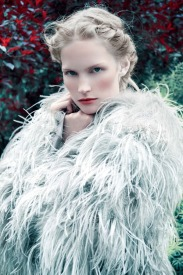 "Katrin Thormann in ""Into The Woods"" by Erik Madigan Heck for Harper's Bazaar UK, September 2014"