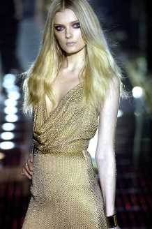 Lily Donaldson at Gucci FW