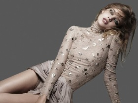 Natalia Vodianova in Rock Couture for V #62